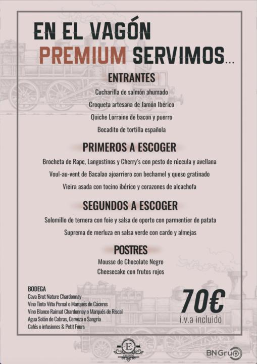 70 menu banquete Estacio
